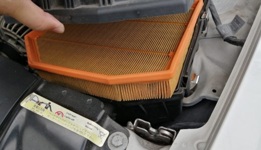 【BMW Z4(E85)】リベンジ!エアフィルター(エアエレメント)を交換しました