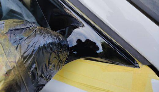 樹脂部分の劣化・白化の対処方法…結局のところ塗装するしかない!【BMW Z4(E85)】