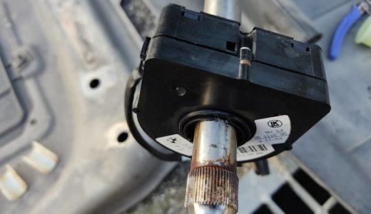 ステアリングアングルセンサーの修理・交換方法【BMW Z4(E85)】