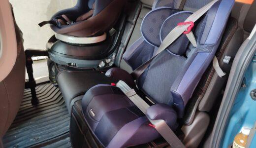 【新型フリード】Combiのジュニアシート(ジョイトリップ)とシートカバーを取り付け【GB5】