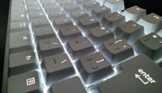 ブログ用に白くてかっこいいゲーミングキーボードを買ってみた【RAZER BLACKWIDOW LITE 】